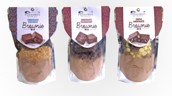 Desserts Brownie Mix Chocolate Coconut Gourmet Merchant
