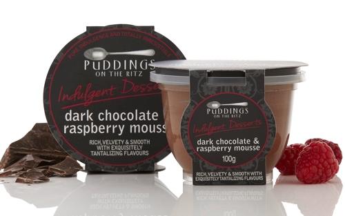 mousse dark chocolate raspberry the gourmet merchant